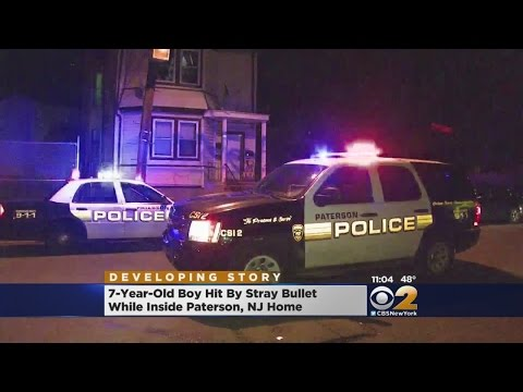 Paterson Boy Shot At Home