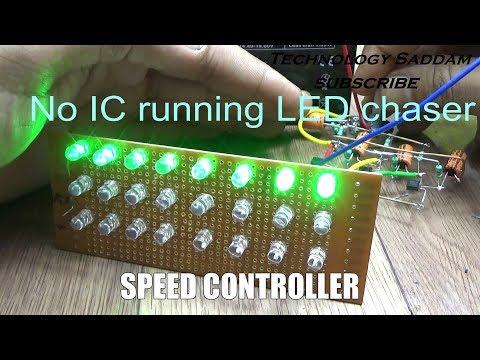 3 Transistors|| LED