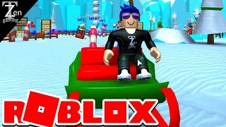 EPIC JACK IN THE BOX!! | SNOWMAN SIMULATOR | ROBLOX EP5