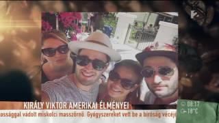 Imádják az amerikaiak, ha Király Viktor magyarul énekel - tv2.hu/mokka