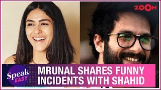Mrunal Thakur shares HILARIOUS moments with Shahid Kapoor on the sets of Jersey remake