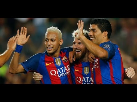 Barcelona 7 x 0 Celtic ● UEFA Champions League 2016  ● Highlights & Goals