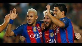 Barcelona 7 x 0 Celtic ● UEFA Champions League 2016  ● Highlights & Goals