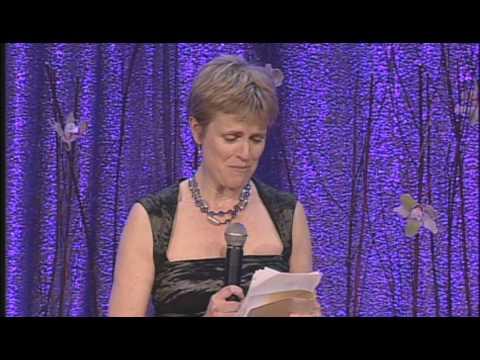 Rachel Portman Accepts the Richard Kirk Award at the 2010 BMI Film/TV Awards