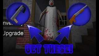 How to get the crossbow badge and the shotgun badge! Roblox Granny!