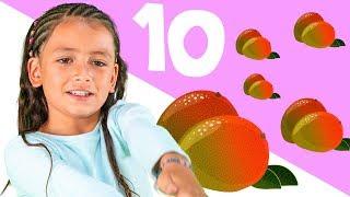Cuenta Hasta 10 en Español Usando Mangos!