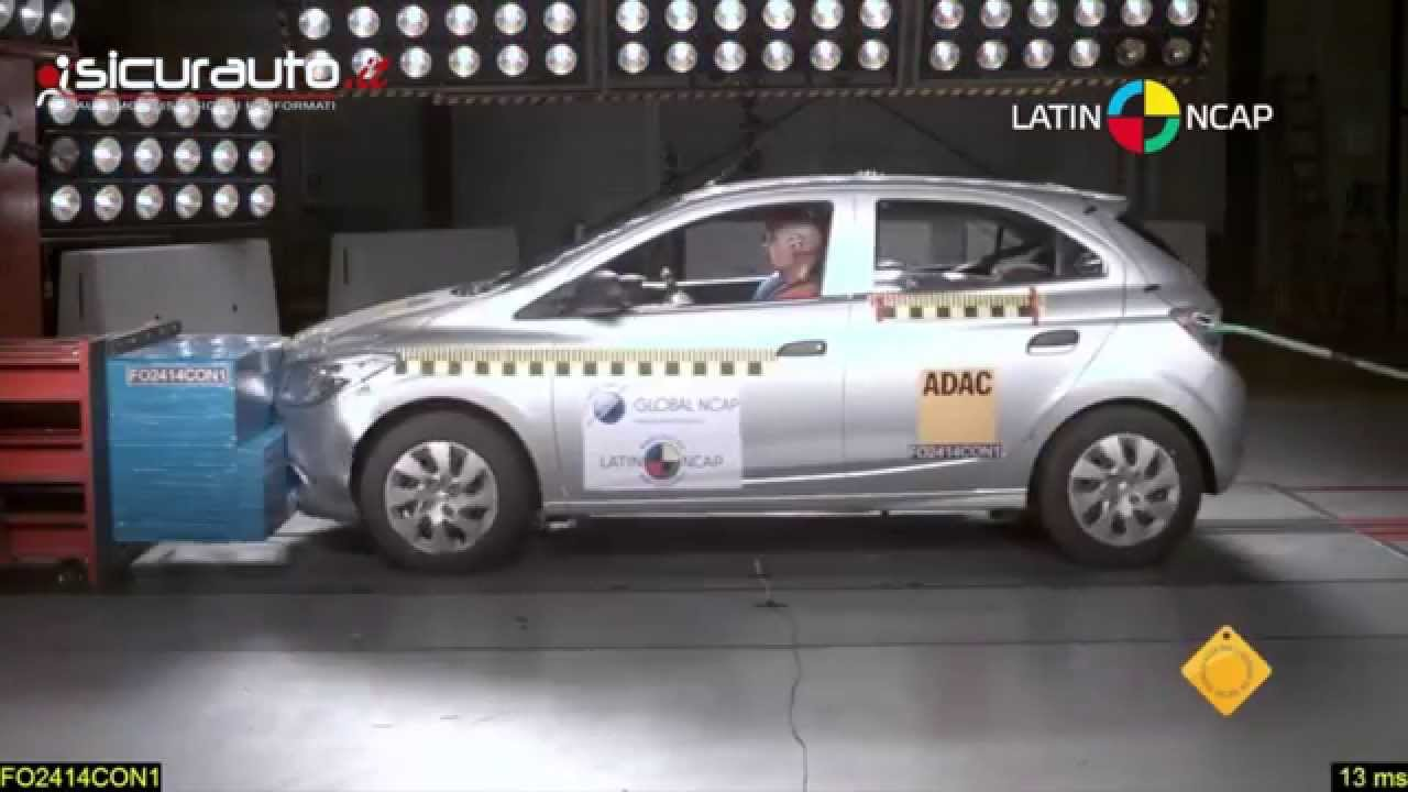 Crash Test Latin Ncap Chevrolet Onix Youtube