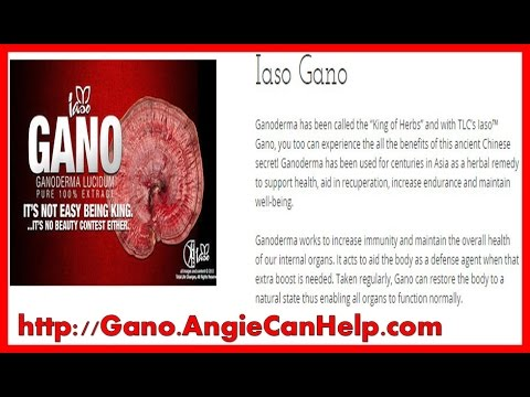Iaso Gano Total Life Changes Product Review| Ganoderma Lucidum| Health Benefits