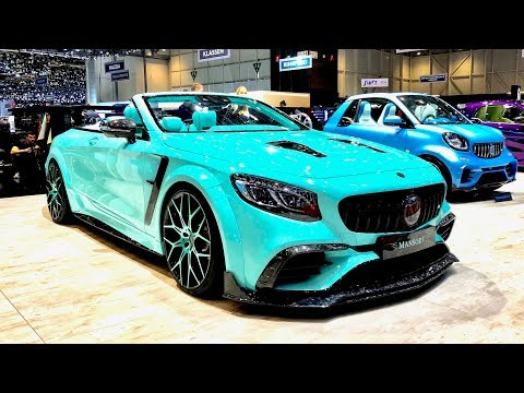 The MANSORY 'S Crazy Stand !!! Bugatti Chiron, Cullinan, Aventador & More - Geneva Motor Show 2019