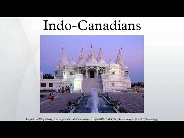 Indo-Canadians
