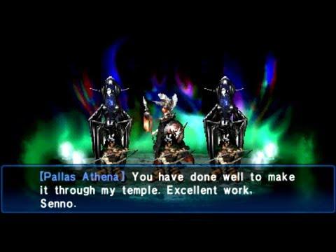 Shin Megami Tensei Devil Summoner Soul Hackers Boss Athena Hard