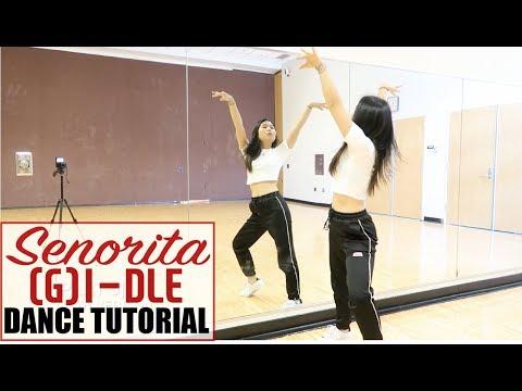 (G)I-DLE((여자)아이들) _ Senorita _ Lisa Rhee Dance Tutorial