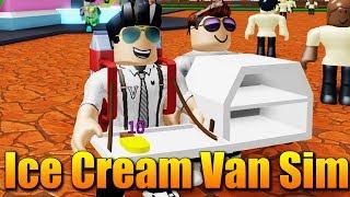 I'M an ICE CREAM DEALER! 😂🍦 Roblox Ice Cream Truck Simulator #1