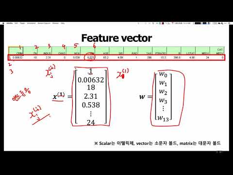 머신러닝 입문 강좌 | TEAMLAB X Inflearn | 2-1 The concepts of a feature