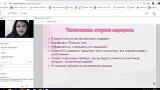 Проведение марафонов как метод рекрутинга и повышения активности Татьяна Хвощевская