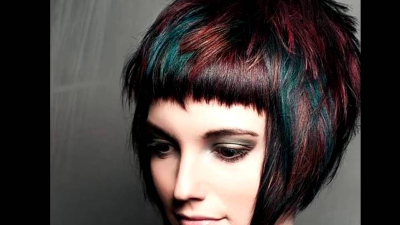 Short Hair with Highlights Ideas For Women - YouTube