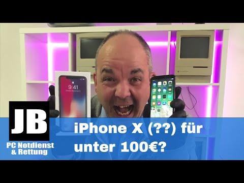 iPhone x (?Klon?) unboxing deutsch unter 100€ günstig kaufen. Der erste Eindruck! (4K)