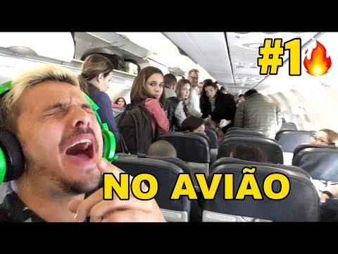 CANTANDO NO AVIÃO KEVINHO E MC KEKEL - O BEBE  + MELHORES CANTANDO 2018