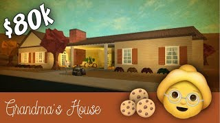 Roblox Bloxburg | Grandma's House [Speed Build]
