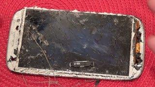 Truth About Gorilla Glass (Ultimate Galaxy SIII Destruction!!!) *REPAIR VIDEO IN DESCRIPTION!!!*