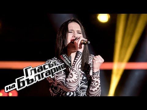 Анна Халембакова – You Shook Me All Night Long – Гласът на България 5 (18.03.2018)