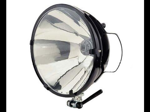 Самый мощный светодиодный прожектор в мире (рус) - YouTube