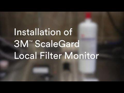 Installation of 3M™ ScaleGard Local Filter Monitor