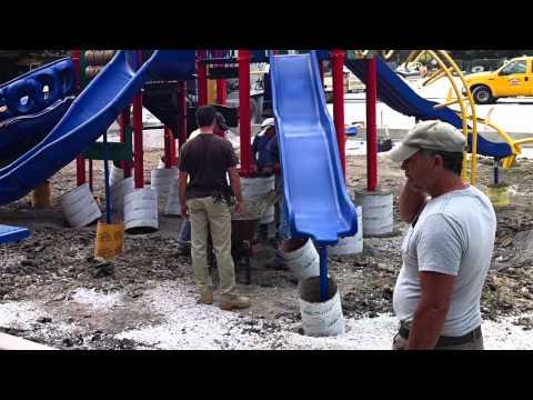 Belding Elementary School Field & Playground Renovation, Fall 2011