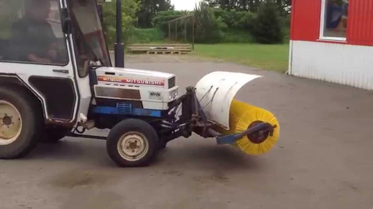 Mitsubishi Tractor 180 : Mitsubishi mt hd youtube