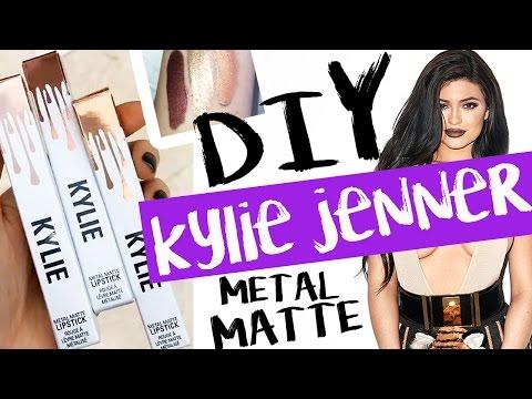 DIY Kylie Jenner METAL MATTE Lipsticks! | by tashaleelyn