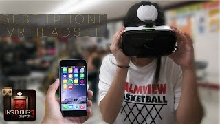 IPhone VR Headset Unboxing And Funny Recations