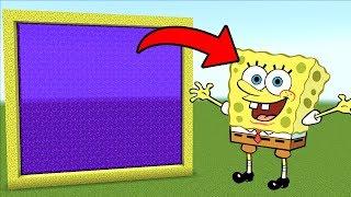 Minecraft Pe How To Make a Portal To The SpongeBob Dimension - Mcpe Portal To SpongeBob!!!