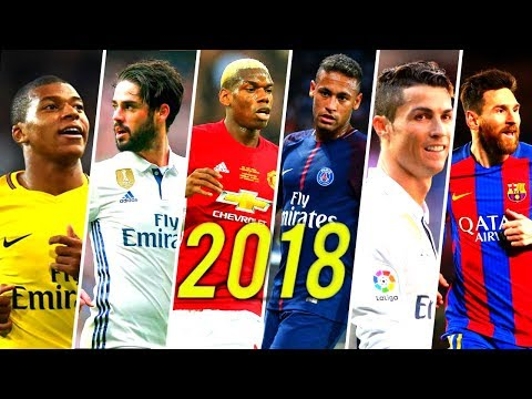 Best Football Skills Mix 2018 ● Neymar, Ronaldo, Messi, Pogba, Mbappé, Isco & More ● HD