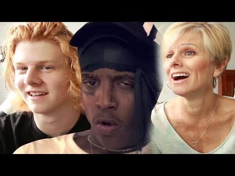 MOM REACTS TO SKI MASK THE SLUMP GOD - CATCH ME OUTSIDE (Shot by @_ColeBennett_)
