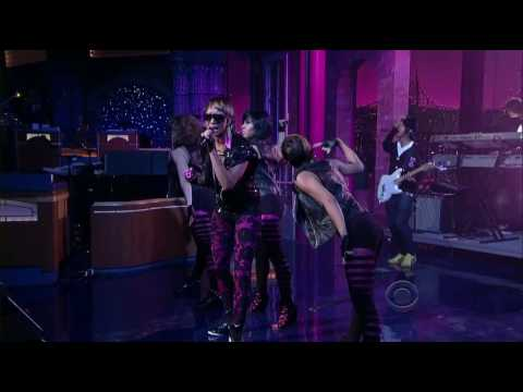 Keri Hilson ft Kanye West  Knock You Down HD  @ Letterman