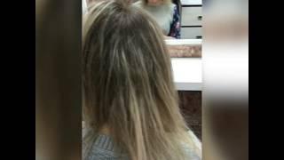 Капсульное наращивание волос (височная зона)