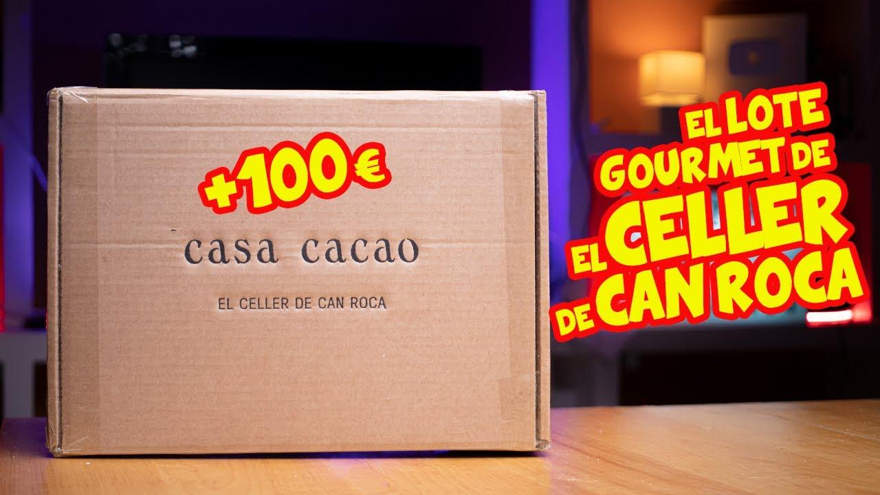 Como es el LOTE GOURMET de EL CELLER DE CAN ROCA - CASA CACAO ??