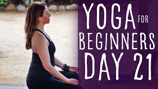 13 Minute Yoga For Beginners 30 Day Challenge Day 21 with Fightmaster Yoga