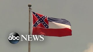 Mississippi To Ly Retire Controversial State Flag