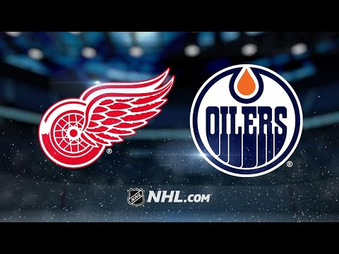 Mrazek, Red Wings shut out Oilers, 4-0