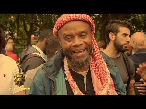 JAMAICAN MUSLIM BROTHER DISCUSSES RELIGION WITH ARAB ATHEIST |SPEAKERS CORNER|