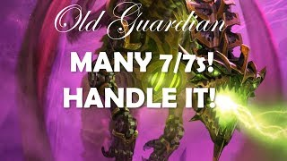 Many 7/7s! Handle it! (Hearthstone Rise of Shadows epic gameplay)