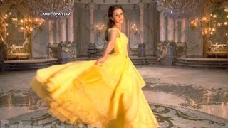 Emma Watson Sings as Belle in a