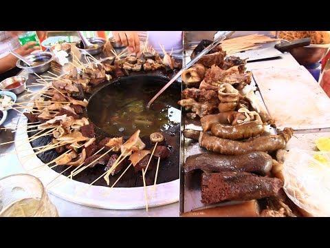 UNIQUE Myanmar STREET FOOD TOUR in Yangon