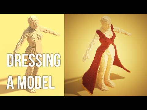 [Magicavoxel] Dressing a model 1/3