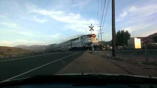 Dash-Cam Vid Metrolink 269 w/ F59PH 864 using the K5LA over Sierra Hwy (S) Palmdale, Ca on 06/23/13