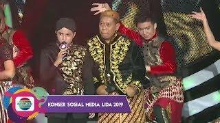 GA NYANGKA!! Jirayut Bisa Lagu Jawa Prau Layar Bareng Tukul | Konser Sosmed 2019