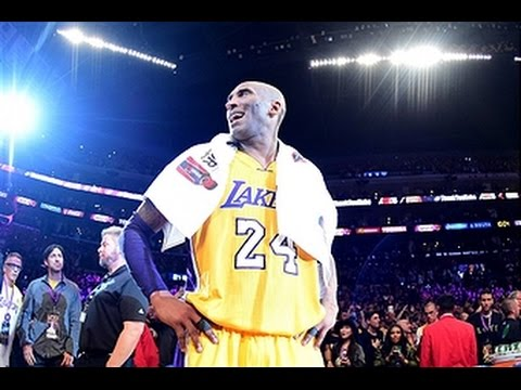 9b1a9d55d3d Kobe Bryant s Farewell to Lakers Fans - YouTube