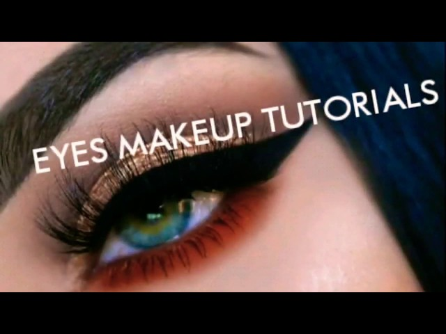 BETS AMERICANS EYES MAKEUP TUTORIALS ! | Easy for parties or importants events | Girls Kingdom