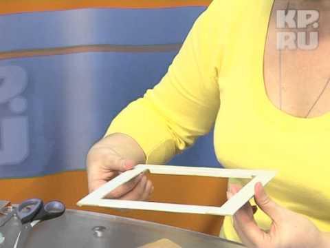 Тютелька в тютельку: Рамка своими руками